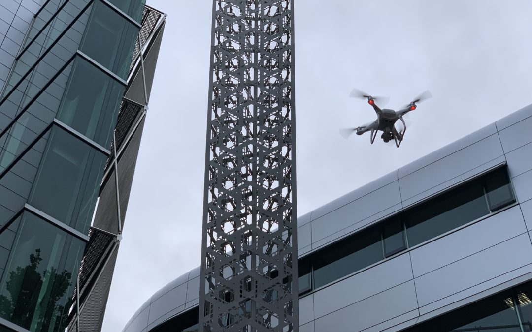ObjektCare uses Drones to deliver fast and accurate Sculpture Surveying